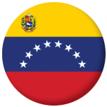 Venezuela State Country Flag 58mm Button Badge